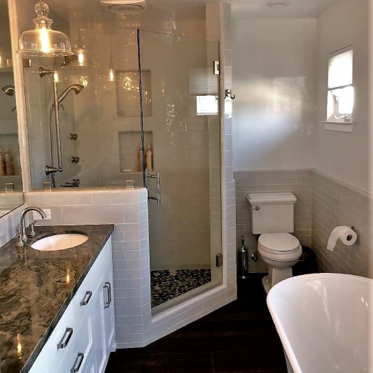 brand new bathroom renovation in Templeton