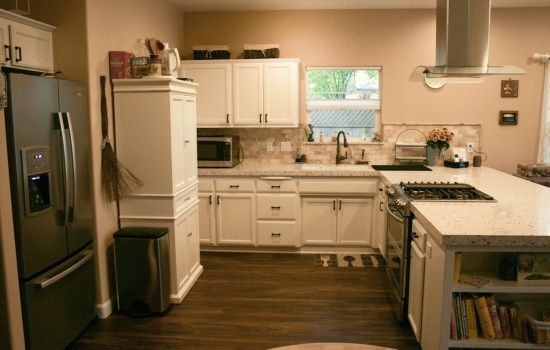 Open style full kitchen remodel