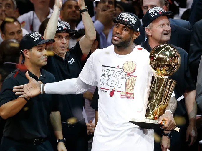 e1f5de5f5 Will LeBron James and the Heat win a third consecutive NBA championship   USA TODAY Sports