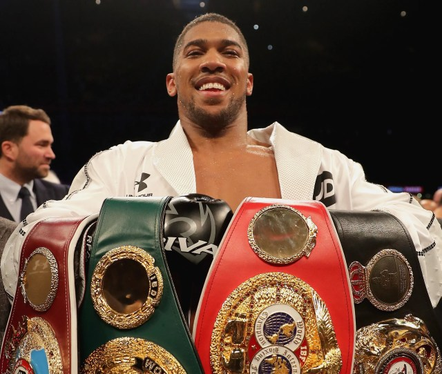 Anthony Joshua Is Is   Knockouts