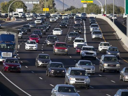 Phoenix weekend traffic