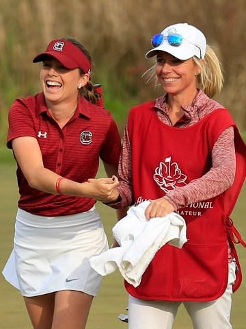 Inspired by slain Iowa State golfer, Ainhoa Olarra claims last spot in Augusta National Women's Amateur final