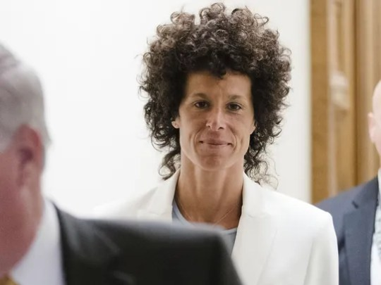 Bill Cosby's accuser Andrea Constand is seen Tuesday