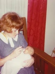 Terry Hawks' daughter Aleena is shown as a newborn