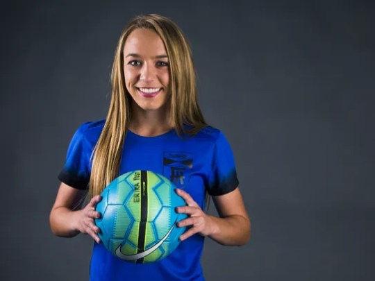 Erika Yost, soccer player from Fountain Hills, is the
