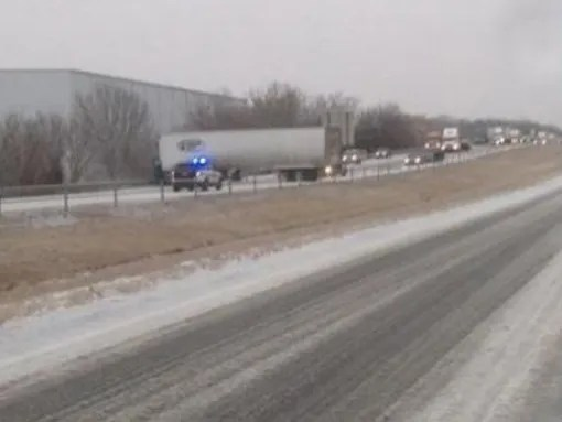 A crash on I-40 in Middle Tennessee near Lebanon shut