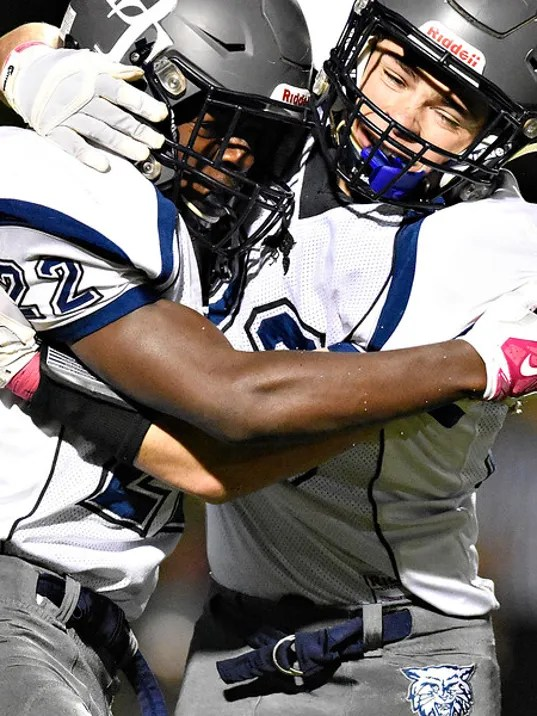 Dallastown vs South Western football 10-16-2015