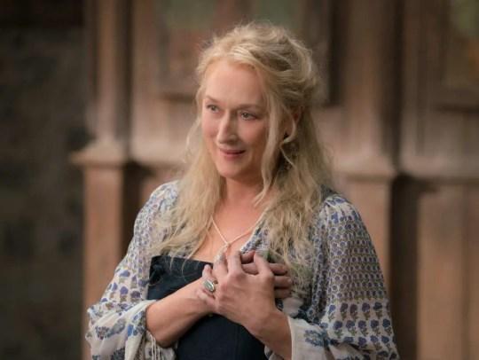 Meryl Streep gives a little heartbreak in