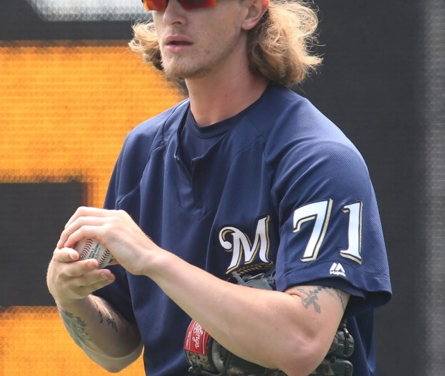 Usp Mlb Milwaukee Brewers At Pittsburgh Pirates S Bbn Pit Mil Usa Pa Brewers Relief Pitcher Josh Hader