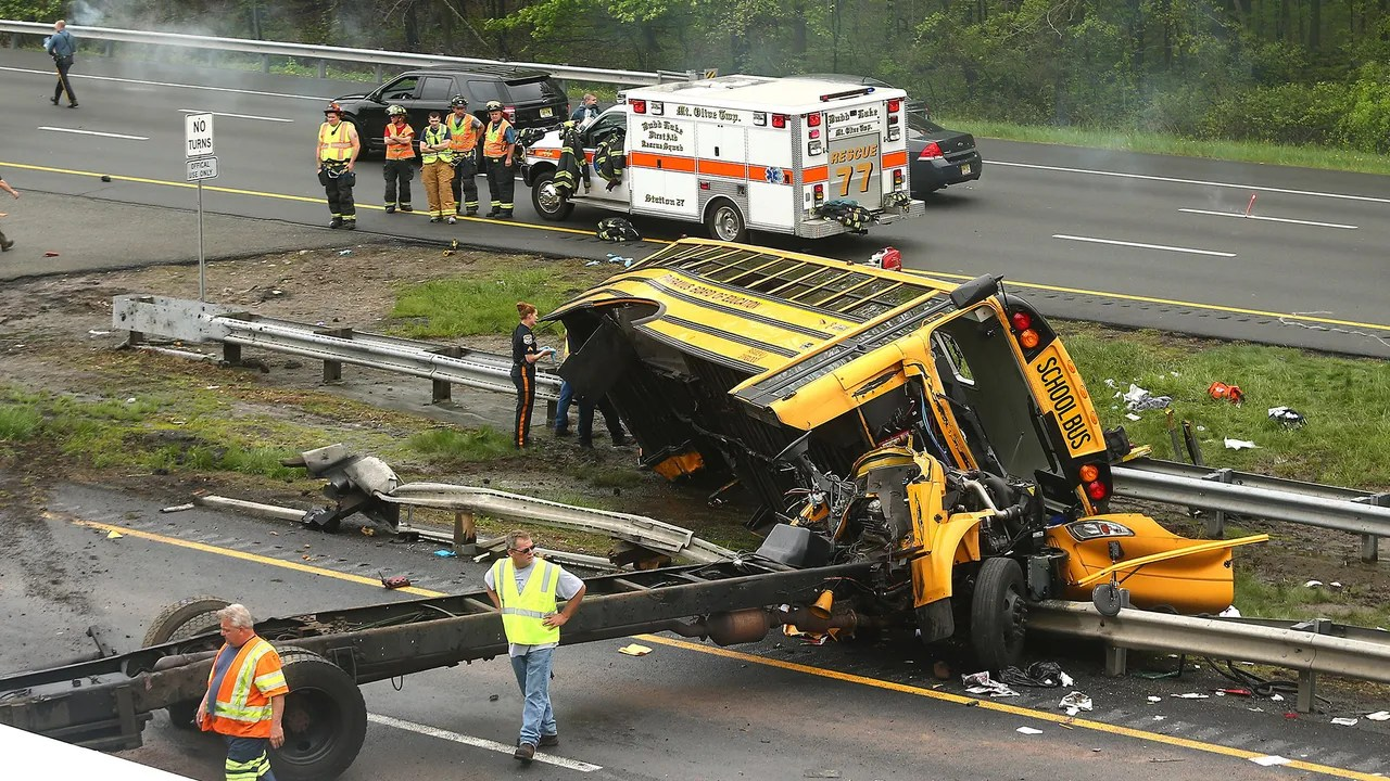 Driver In Deadly N J School Bus Crash In Court