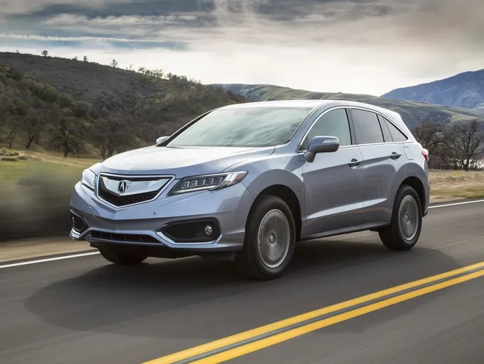 The refreshed 2016 Acura RDX two-row crossover unveiled