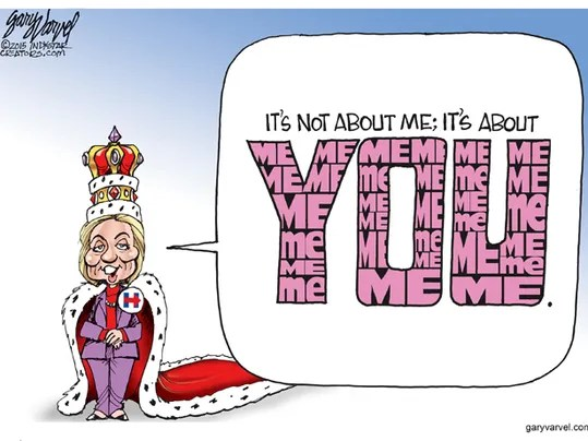 Image result for hillary toon