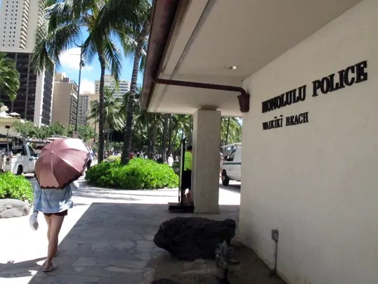 Hawaii Prostitution Police