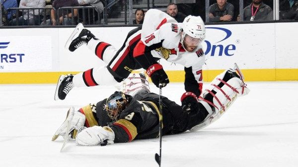 Marchessault nets shootout winner, Vegas beats Ottawa 3-2