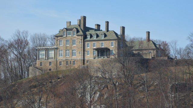 Donald Trump's Seven Springs mansion looms over Lake Byram in North Castle