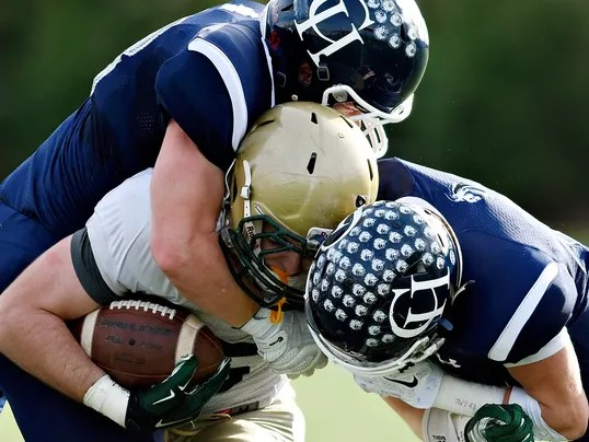 York Catholic vs Camp Hill District 3-A football title game