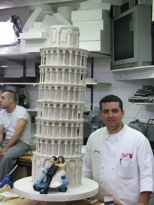 Image result for leaning tower of pisa cake cake boss