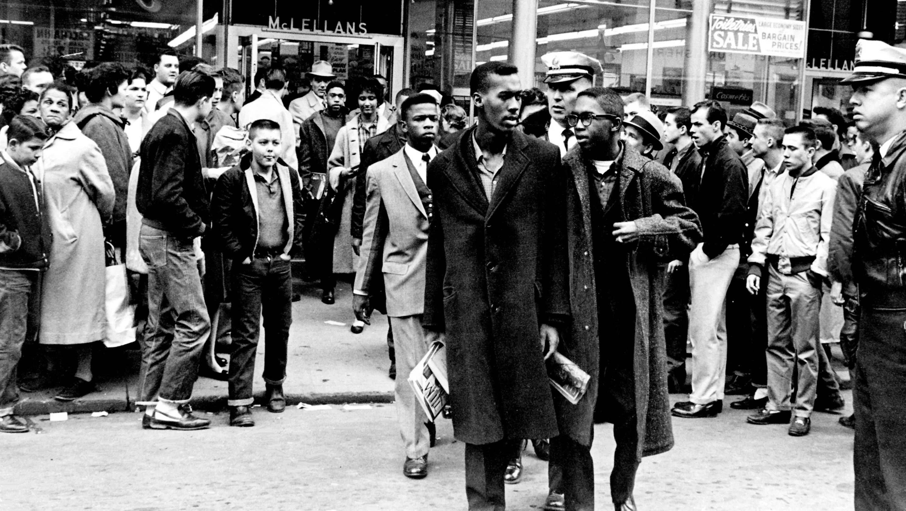 Nashville Then Civil Rights Leader John Lewis From