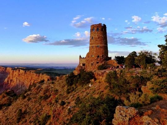 Watchtower at Grand Canyon