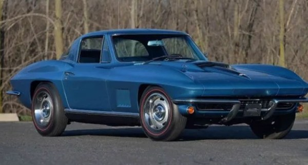 Vietnam vet's beloved Chevy Corvette heads to auction