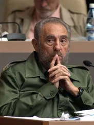 A file picture dated Dec. 23, 2004, shows Cuban then-President