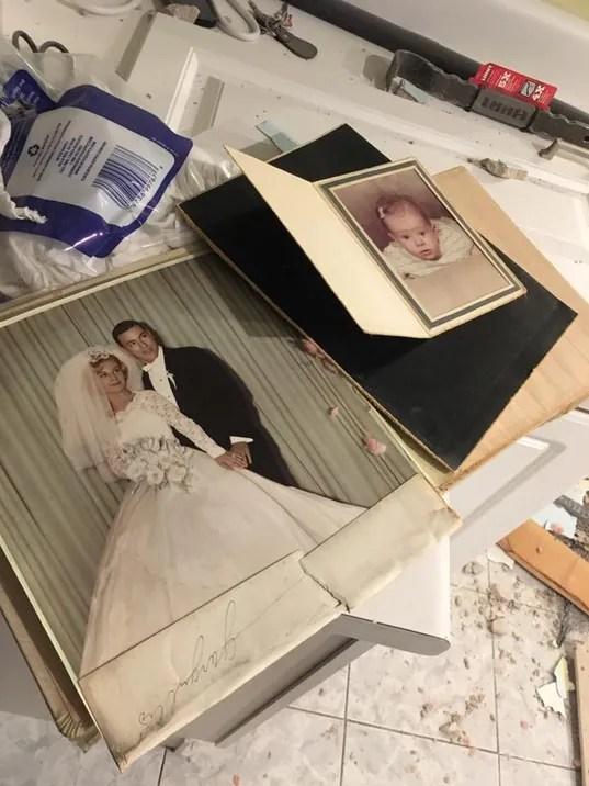 Found wedding album