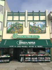 Green Apple Books in San Francisco.