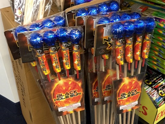 These fireworks were on sale at a Macomb County fireworks