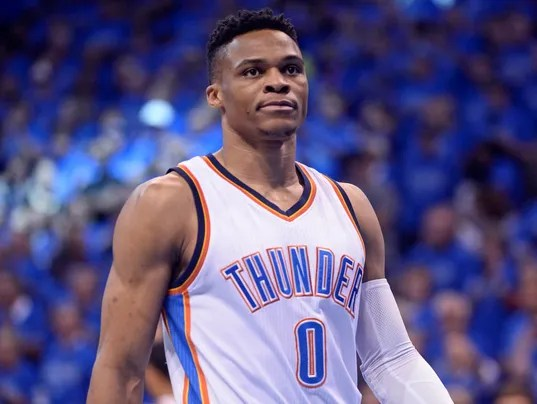 Image result for russell westbrook nba preseason 2016