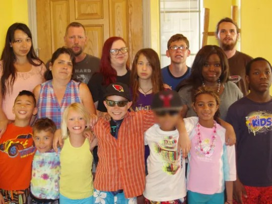 The Charlebois family has fostered and/or adopted 35