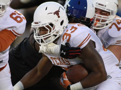 Texas running back D'Onta Foreman