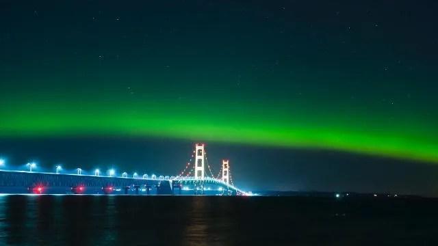 Northern Lights 2017 Michigan