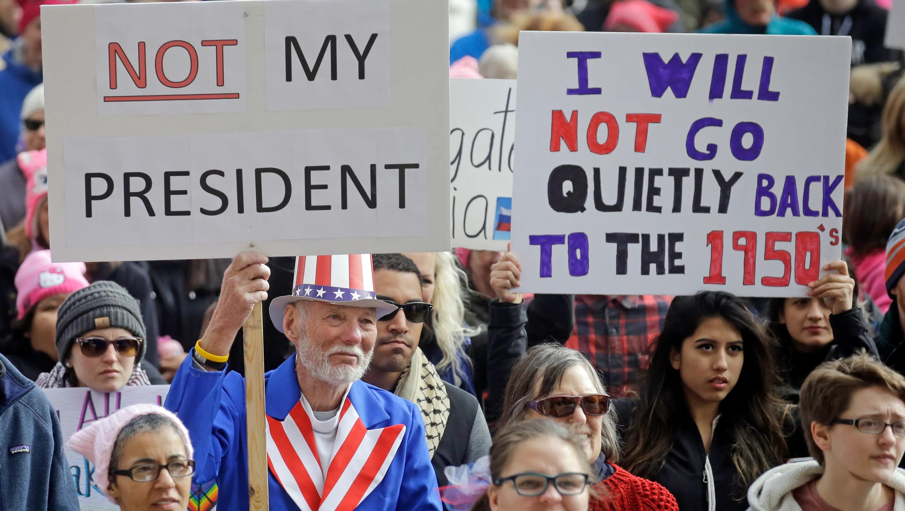 Not My Presidents Day Protests Across The Usa