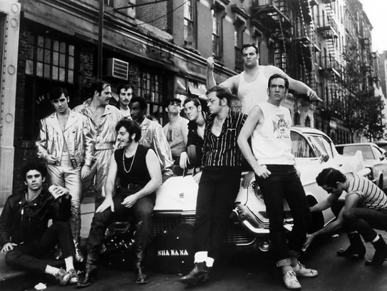 Sha Na Na in a 1969 publicity photo in New York.