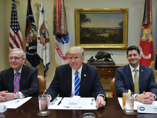 Image result for republican leaders meet at white house June 6 2017