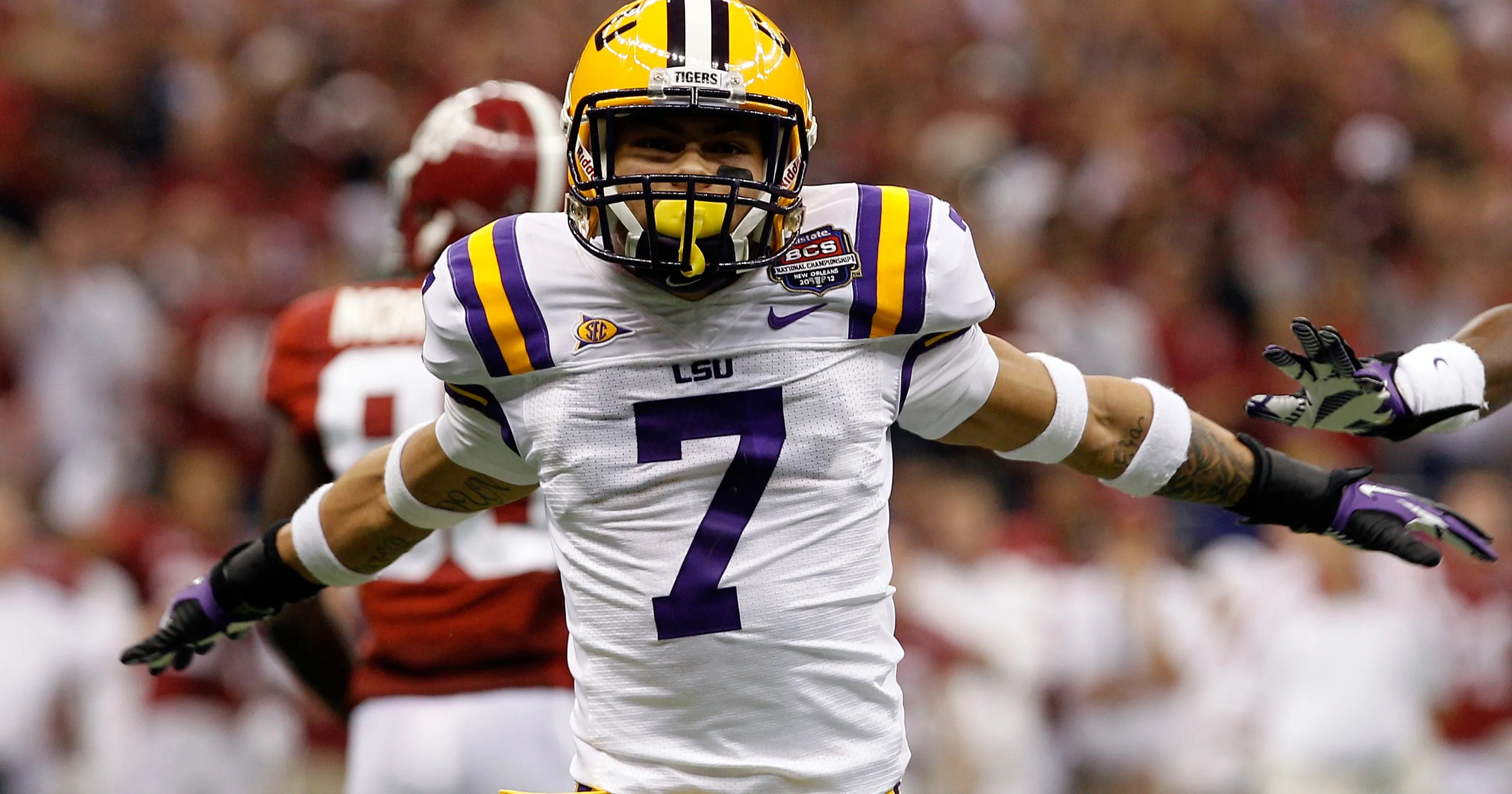 Bell Tyrann Mathieu Suits Up Says He S All Business