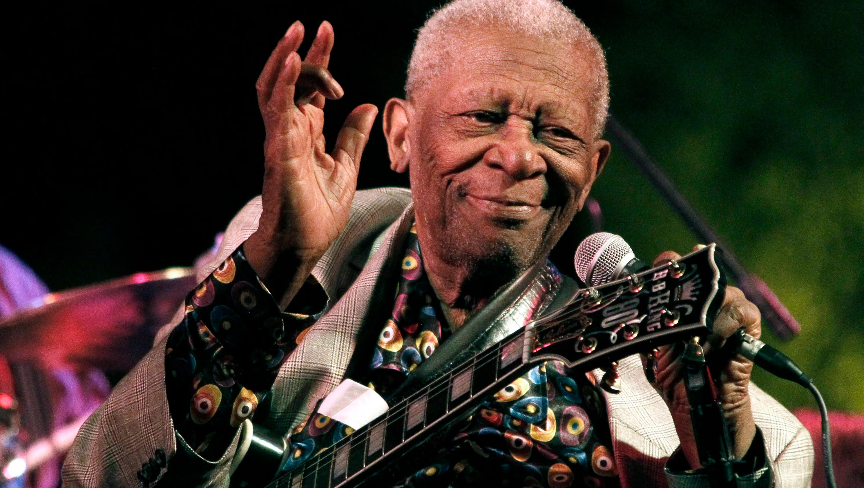 Blues Icon B B King Laid To Rest