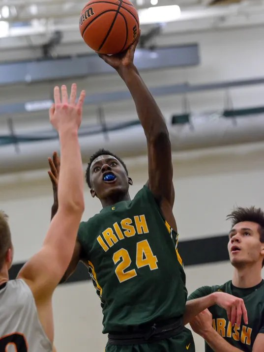 PHOTOS: York Catholic vs York Suburban boy's basketball