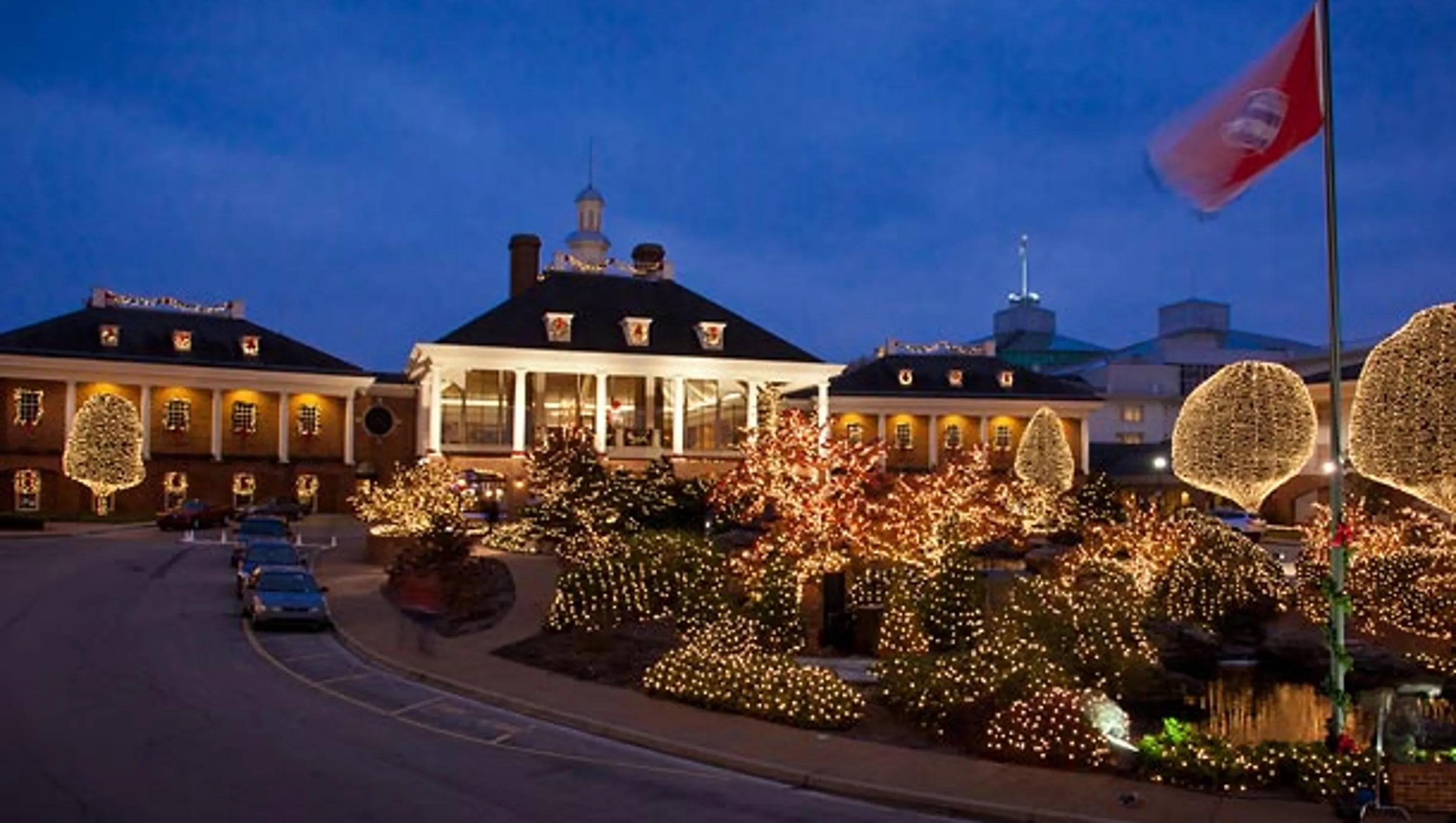 Opryland Christmas Lights