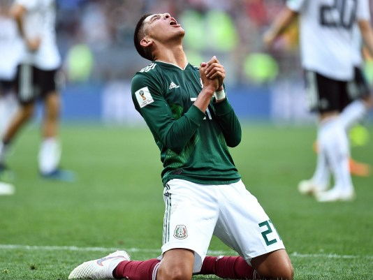 Soccer: World Cup-Germany vs Mexico