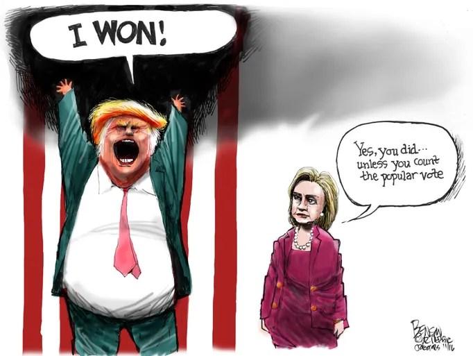 Cartoon for Nov. 14, 2016.