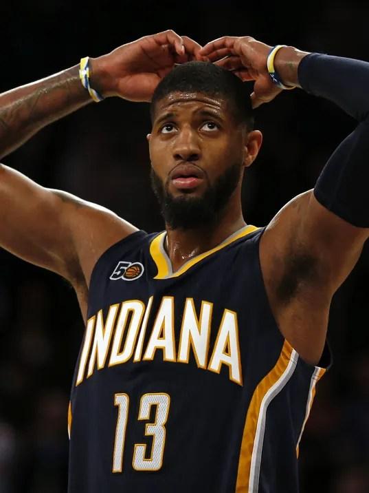 USP NBA: INDIANA PACERS AT NEW YORK KNICKS S BKN NYK IND USA NY