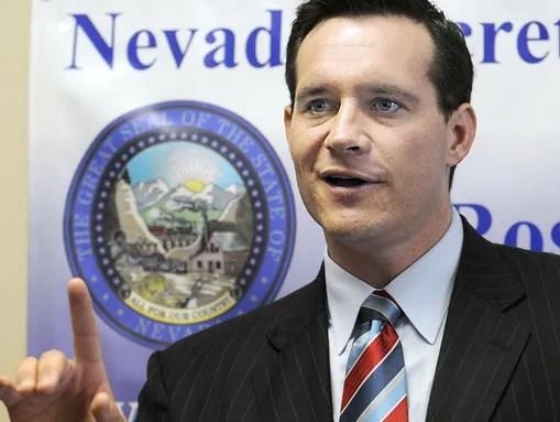 Secretary of State Ross Miller, a Democrat, is running