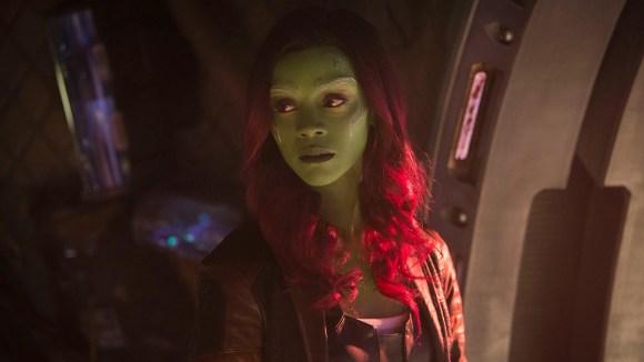 Gamora (Zoe Saldana) has found a new family with the