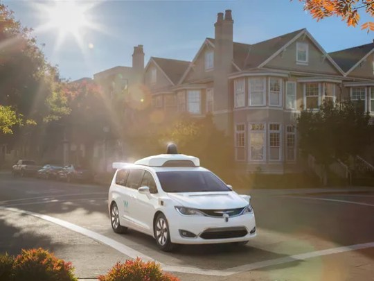 Google-run Waymo unveiled its new self-driving Chrysler