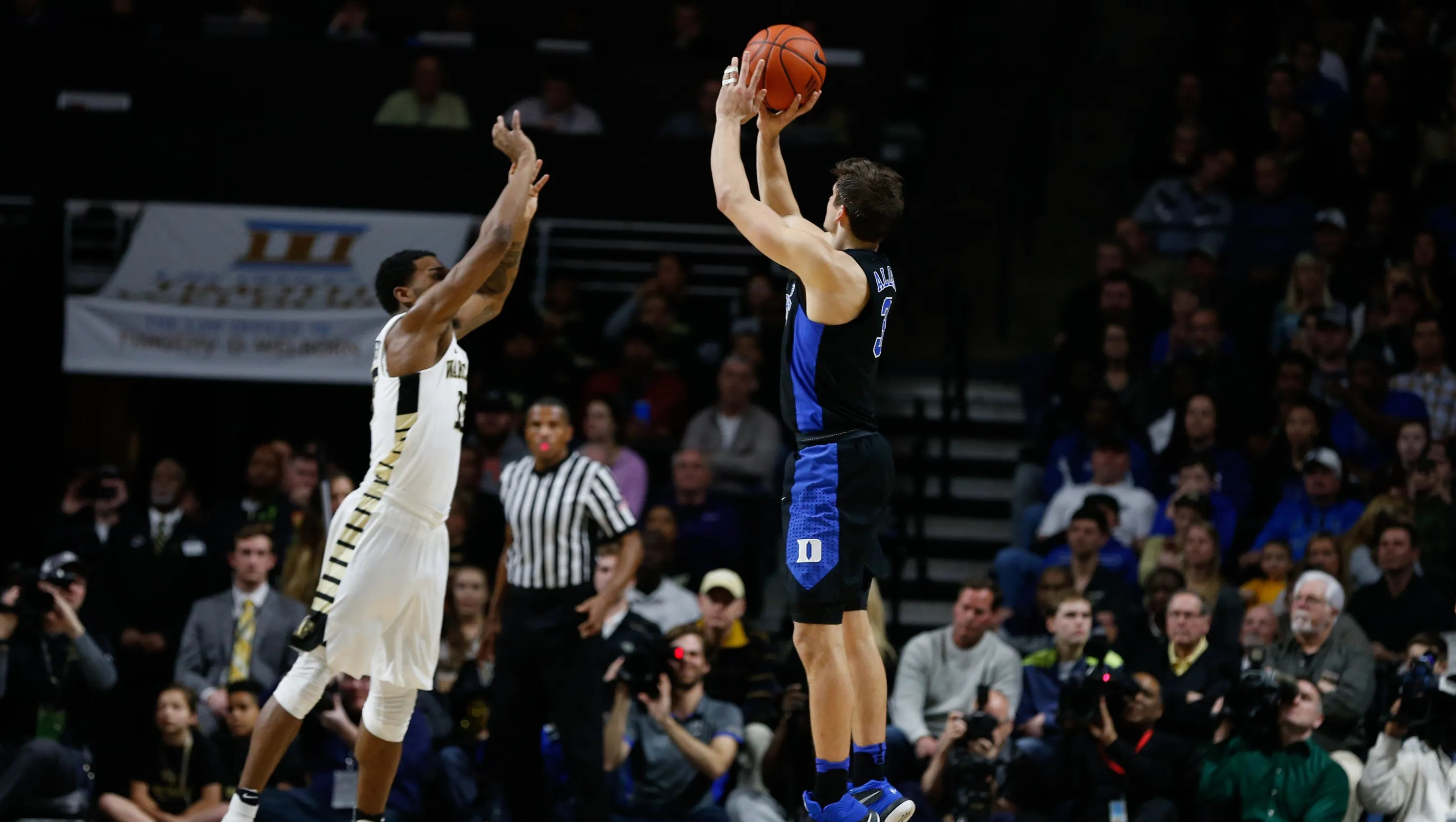 Dukes Grayson Allen Gets Technical For Jawing With Wake