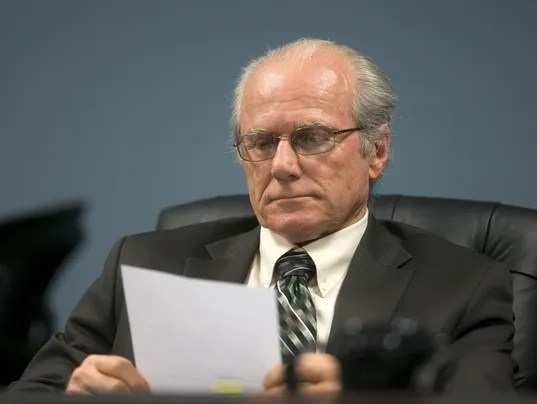 Corporation Commissioner Robert Burns