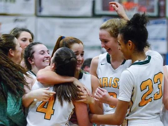 Delone Catholic vs York Catholic girls' basketball