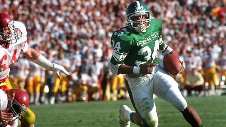 Michigan State RB Lorenzo White's path to the Hall of Fame