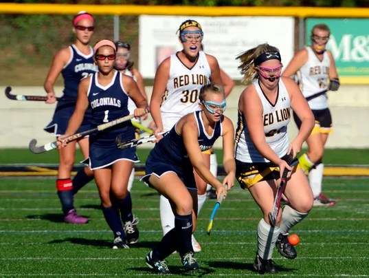 New Oxford vs Red Lion field hockey